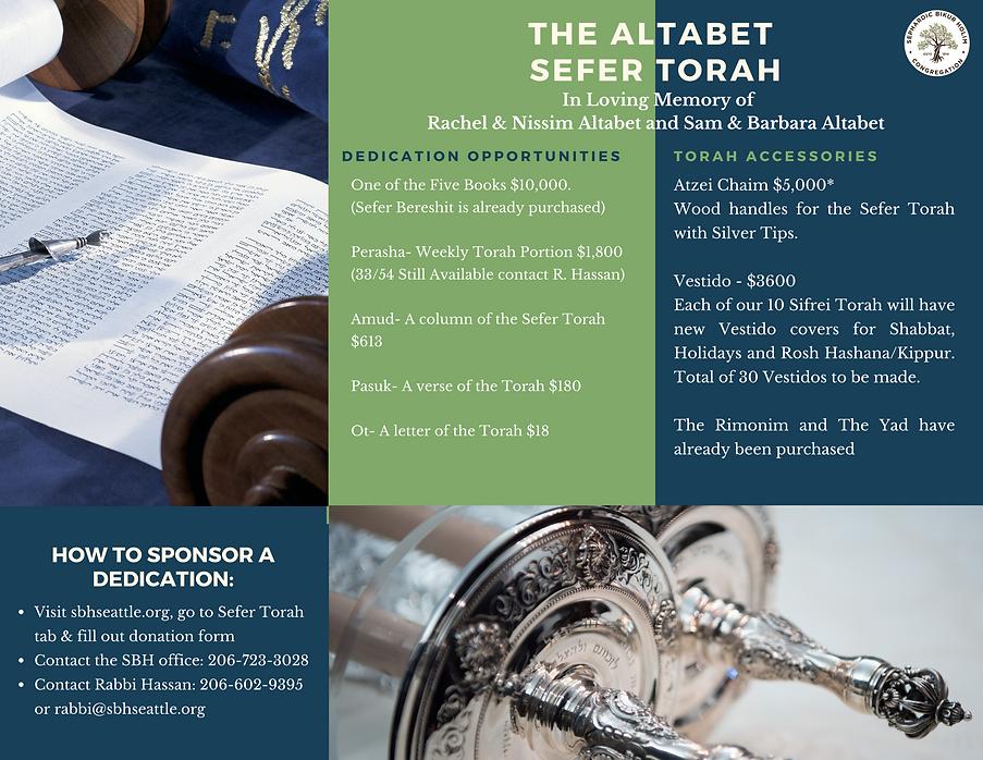 Altabet Torah and the Vestido Project Fl