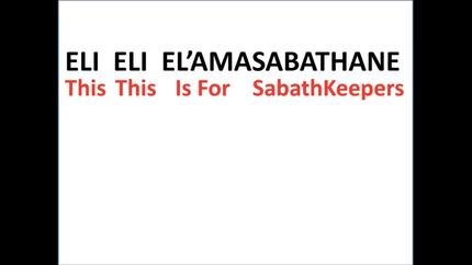 Sabbath Keepers