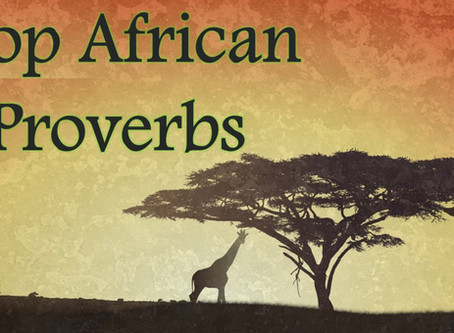 50 every day African Proverbs