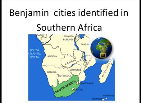 Benjamite Cities in South Africa
