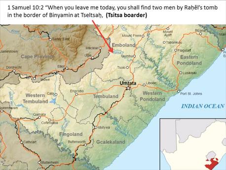 Benjamins cities in South Africa