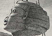 The Sphinx nose & a calendar