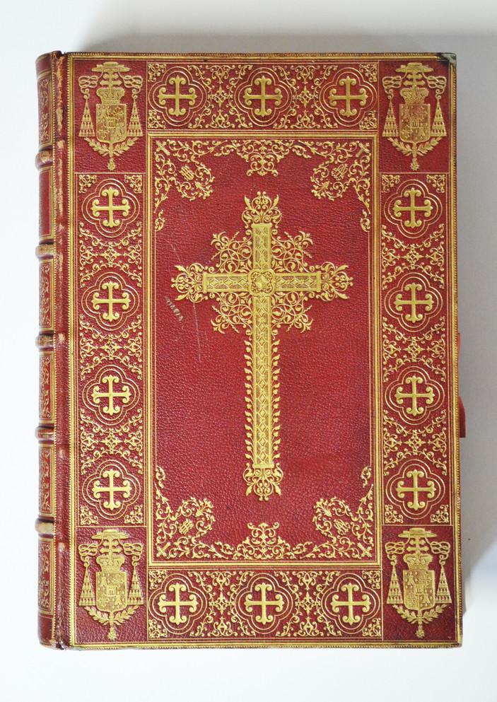 Missel pontifical de Mgr de La Tour d'Auvergne