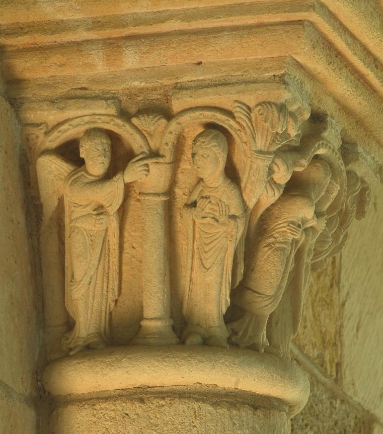 L'Annonciation, Gargilesse (36), XIIe s.