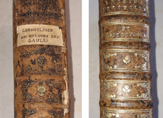 Des ouvrages anciens restaurés pour le Centre François-Garnier [SUITE !]