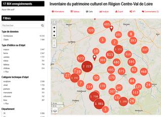Patrimoine : les données de l'Inventaire régional disponibles en Open Data