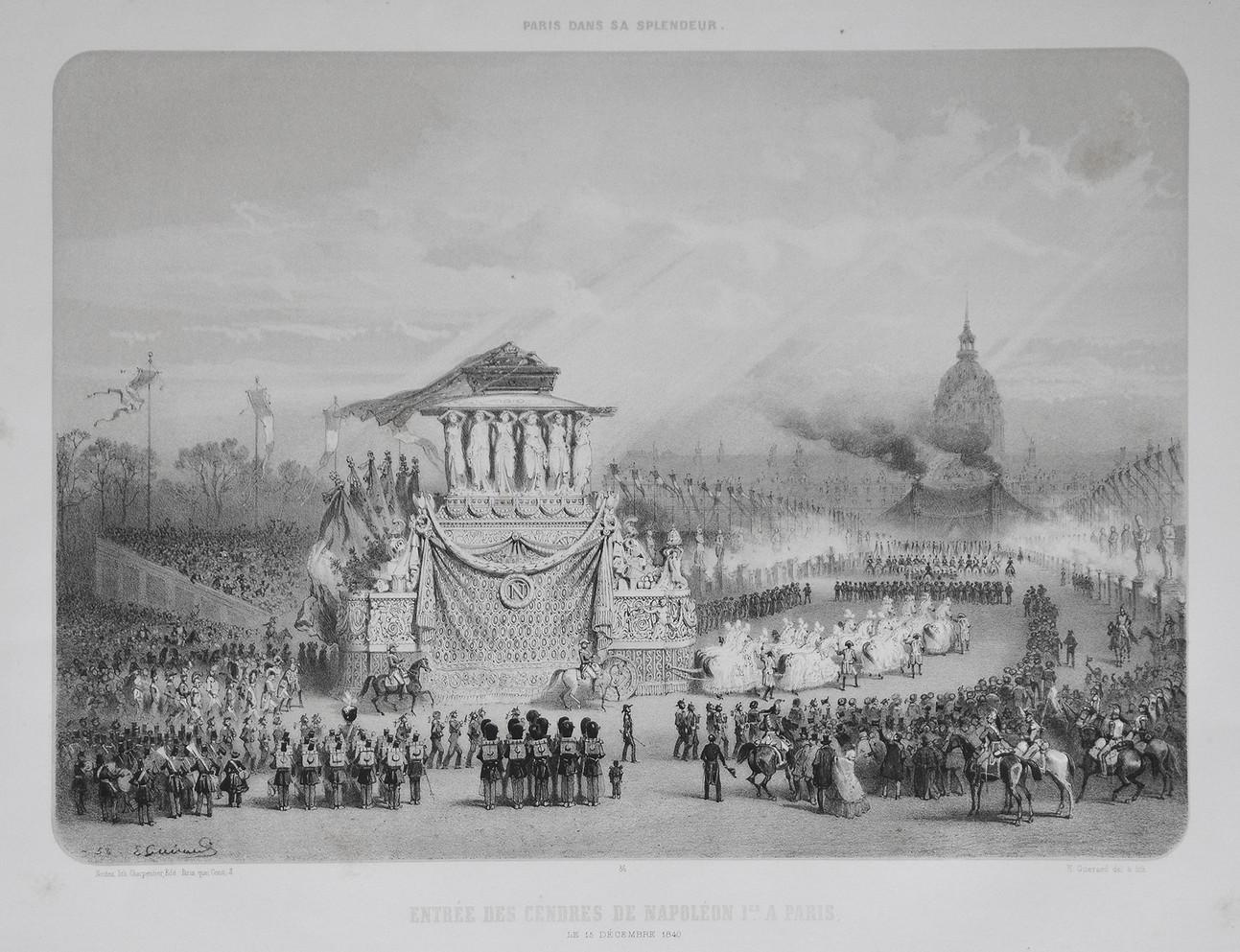 Entrée des cendres de Napoléon Ier