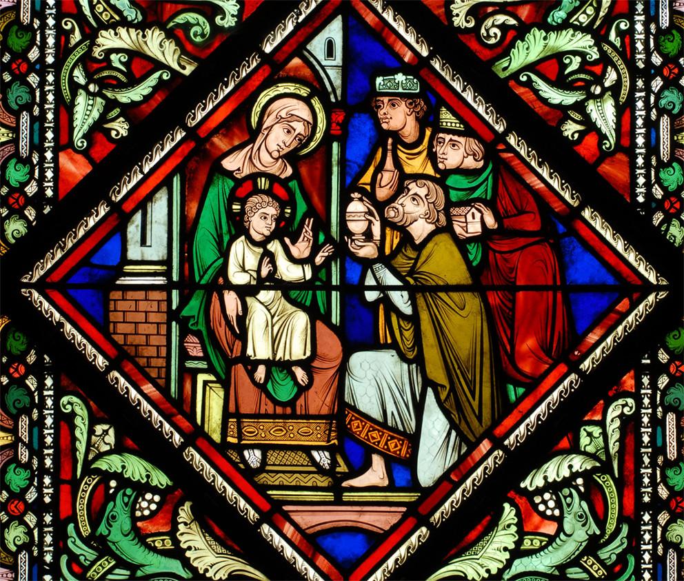 Adoration des Mages (F. Gaudin), Preuilly-sur-Claise (c) X. Anquetin).