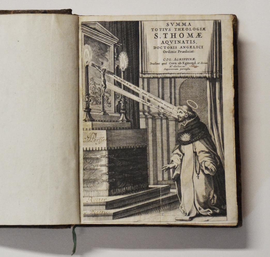 Somme Théologique de saint Thomas d'Aquin