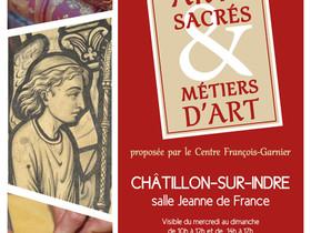 Arts sacrés et métiers d'art... l'exposition virtuelle est en ligne !