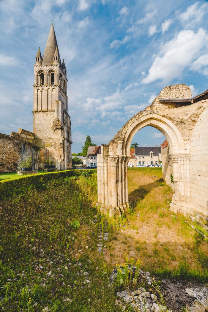 Abbaye de Déols (Indre (c) T. Verneuil.