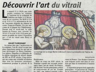 L'art du vitrail entre Berry et Touraine