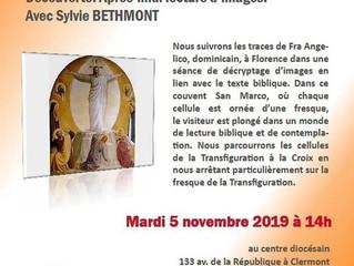 Lecture d'images avec Sylvie Bethmont : 5 novembre 2019