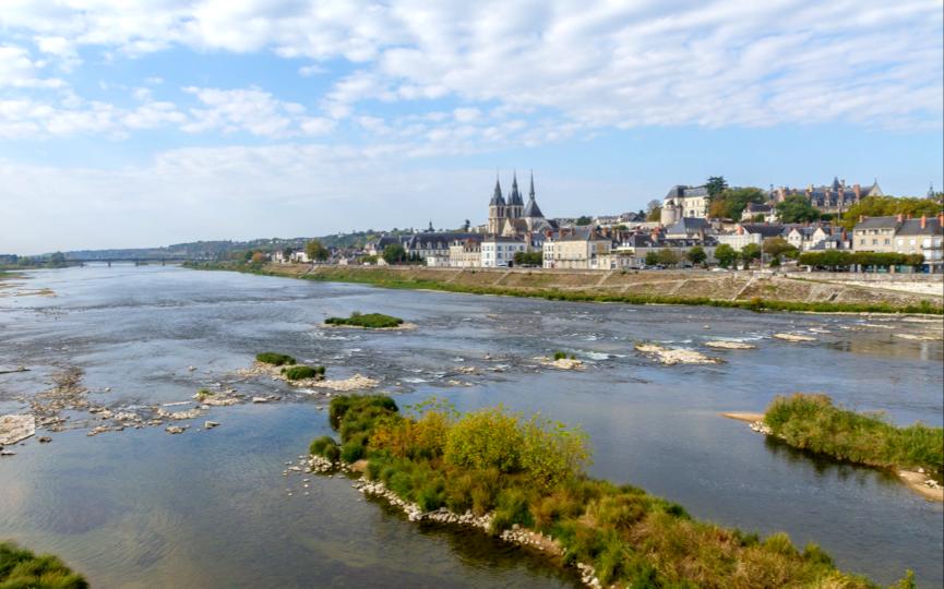 La Loire à BLOIS, cl. Anthony PERROT.