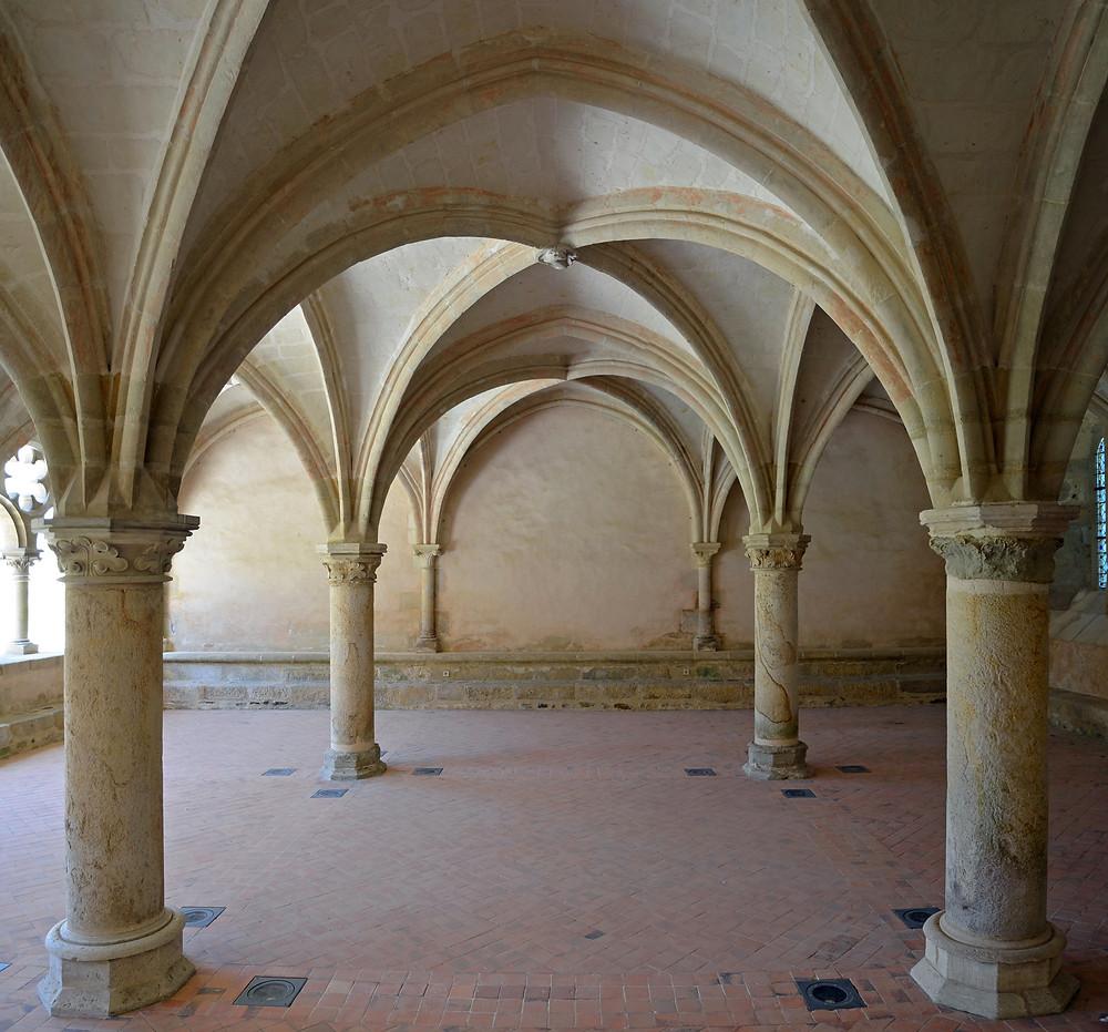 Abbaye de l'Epau, salle capitulaire