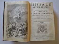 Missel de Bourges (1741)