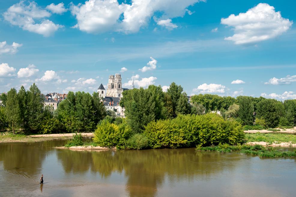 La Loire à Orléans (L. de Simone)