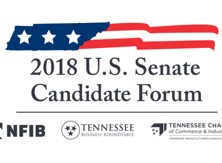 Roundtable, NFIB, Chamber Co-Host 2018 U.S. Senate Forum with Blackburn, Bredesen