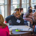 Academy attendees work to produce advising plans