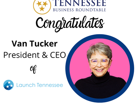 Tennessee Business Roundtable Board Elects LaunchTN's Tucker as Secretary