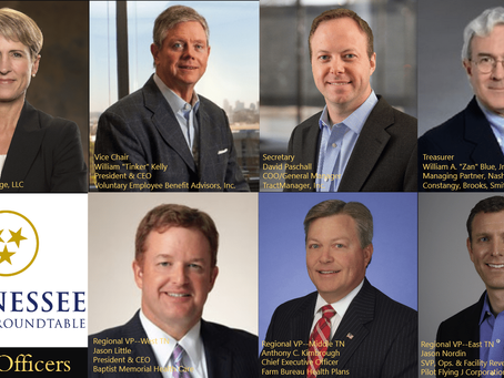 Tennessee Business Roundtable Elects 2017 Officers