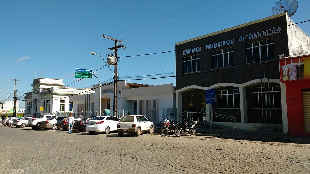 Foto: Hualef Lima. Câmara, Fórum e Prefeitura.