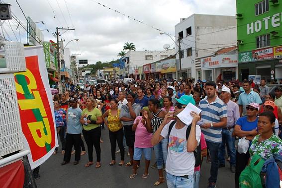 Profissionais da Educação aderem à greve. Foto: Blog Marcos Frahm