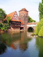 Nuremberg, Rothenburg, itinéraires médiévaux