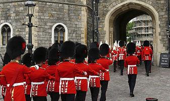 Gardes anglais, Londres