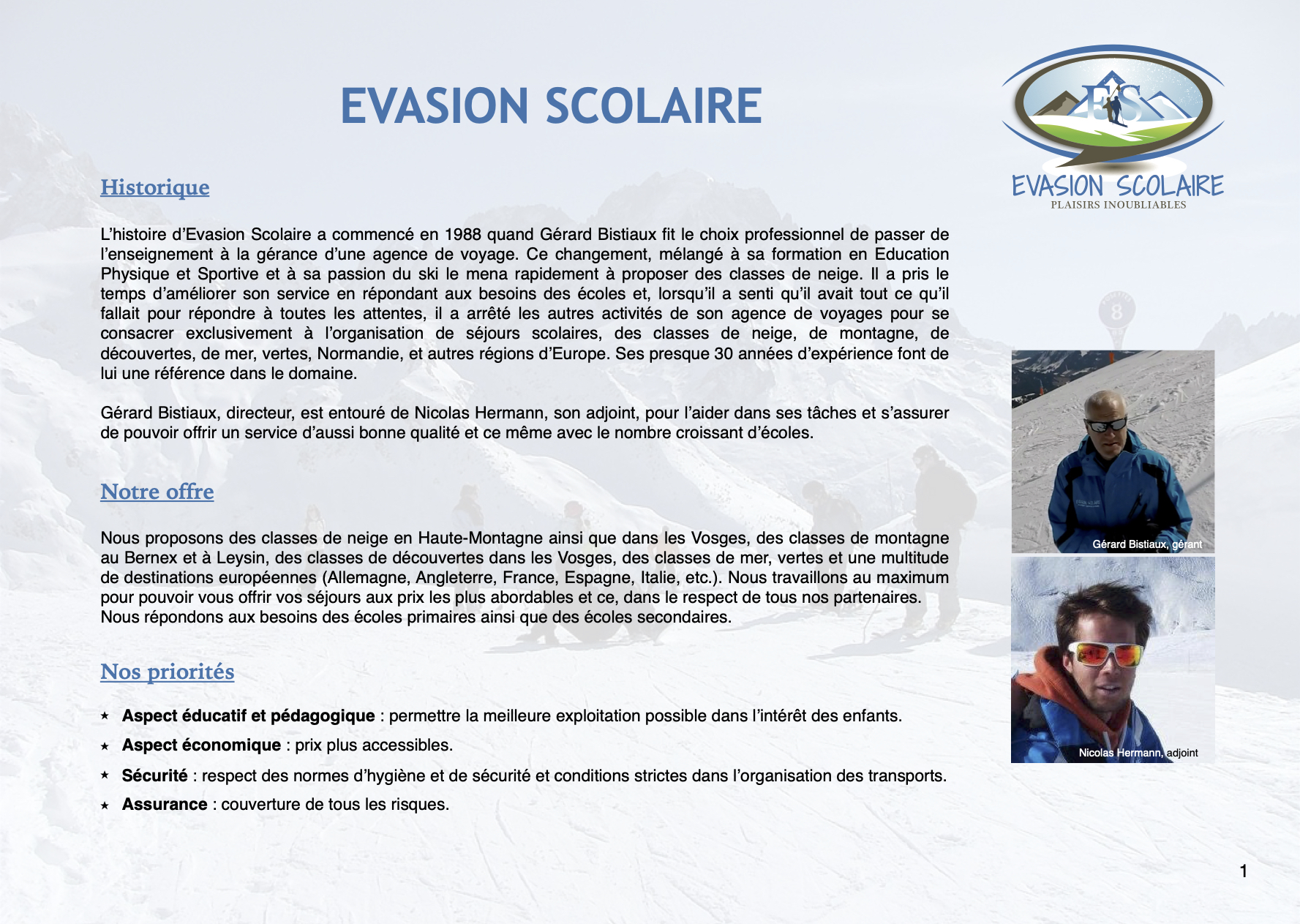 Evasion Scolaire 2