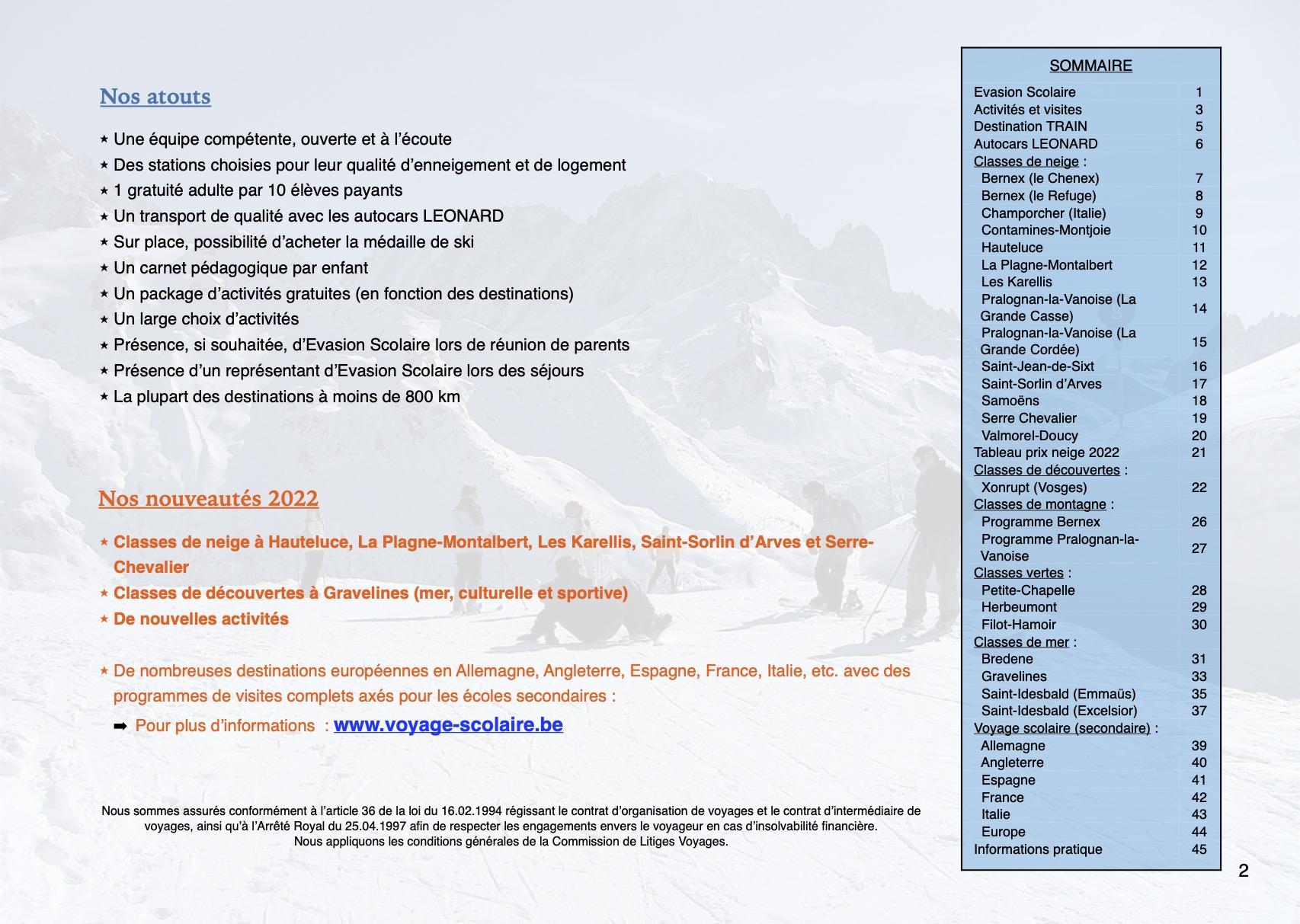 Evasion Scolaire - 2