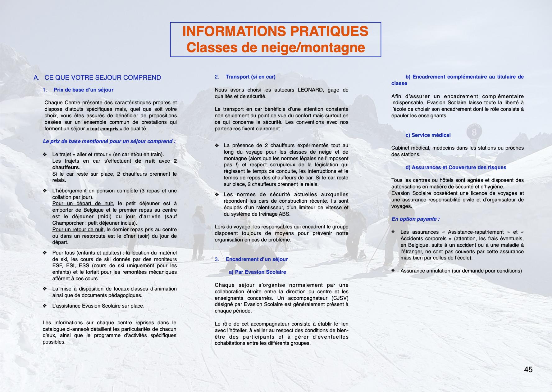 Evasion Scolaire 46