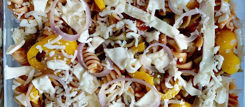 Pasta in Makhani Sauce