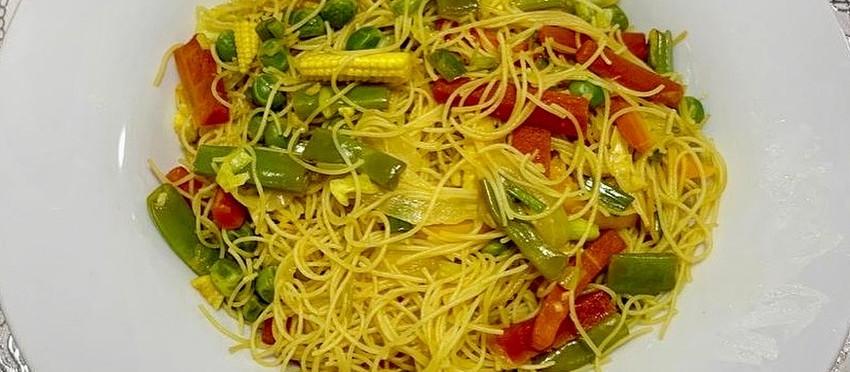 Singaporean Rice Noodles