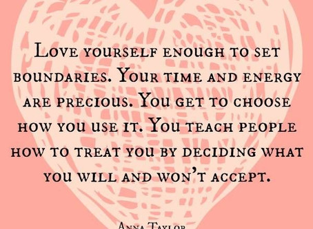 Love, anger and boundaries