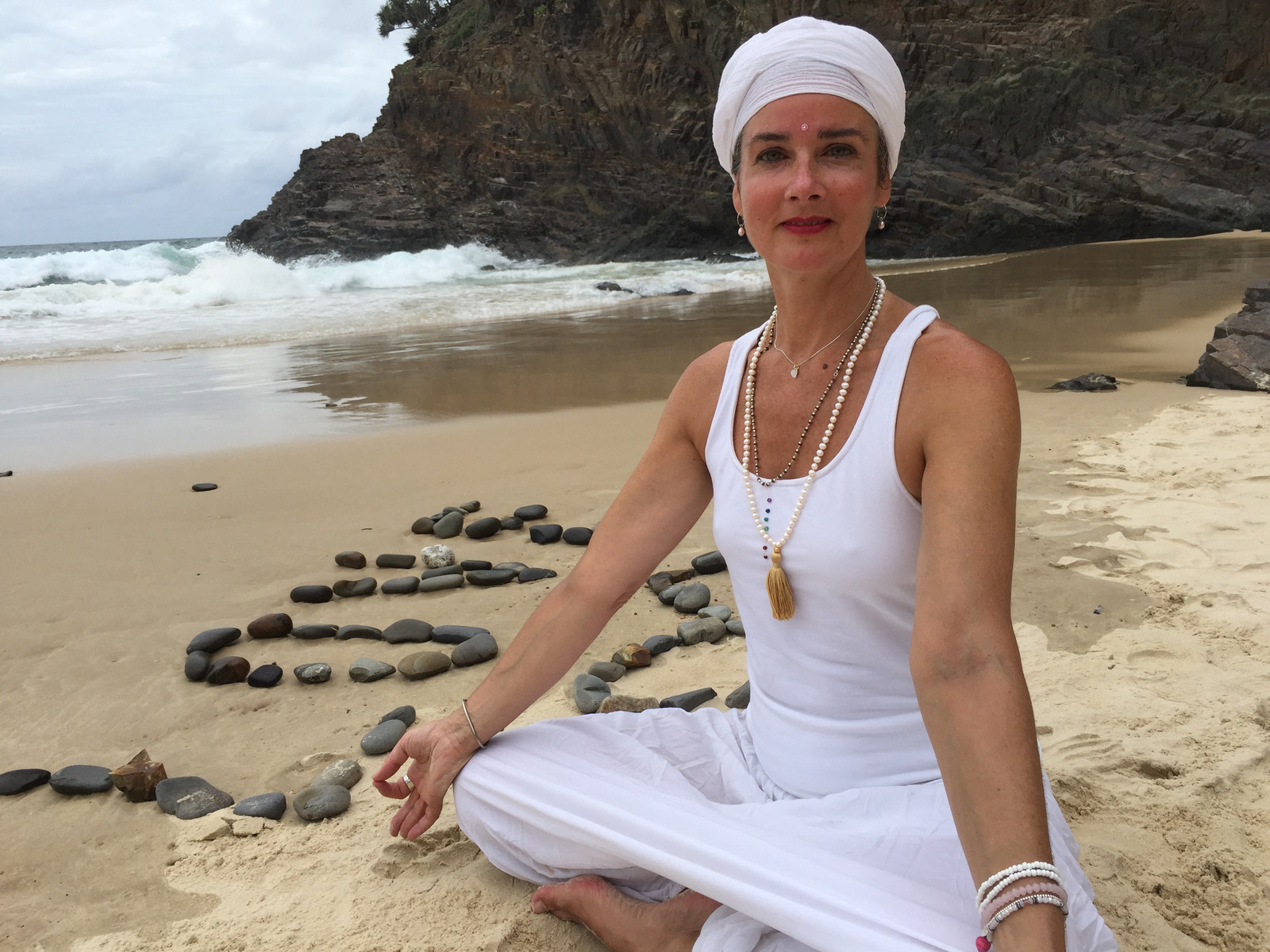 """""""I tried Shakti's Kundaini yoga class for the first time in January 2018 and have never willingly missed a class since. The class has become a highlight of my week, an important source of wellbeing for me. I have always liked the mix of physical exercise and spiritual focus, so typical of Kundalini yoga, but Shakti's classes are extra special, because of the wonderful atmosphere of respect and camaraderie she has created, very different from other yoga classes I have attended, filled with competitiveness and showmanship. I also love the beautiful music Shakti plays through most of the class, which helps to do physically challenging exercises. I recommend this class to anyone who wants to nurture their body and soul."""" Lucy Rosenstein"""