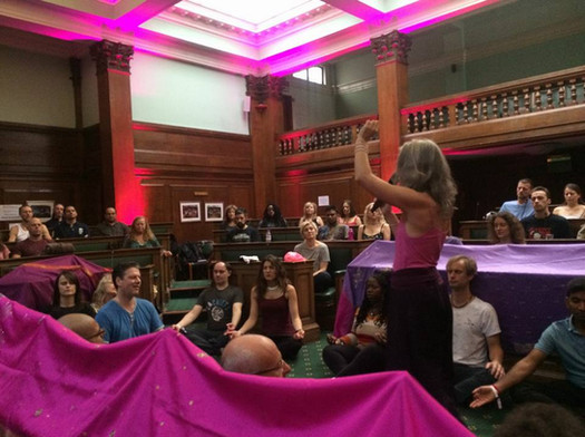 Presenting at the London Tantra Festival, October 2016