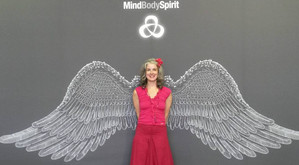 Presenting at the Mind, Body, Spirit Festival, London, 2016