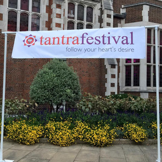 Presenting at the London Tantra Festival, 2015