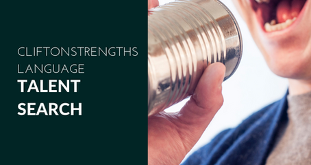 Talent Search: the cliftonstrengths language