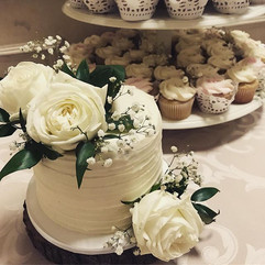 The second of three wedding Cakes this w