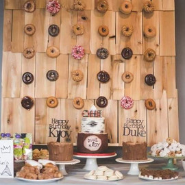 Check out this amazing dessert table for