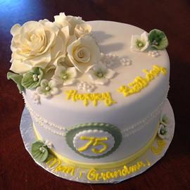#CakeArt #Handmade #HappyBirthday #roses
