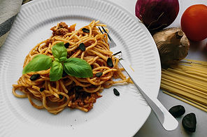 Rich Black Garlic Bolognese