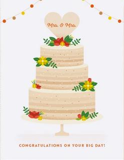 Wedding Congratulations Mrs. & Mrs.