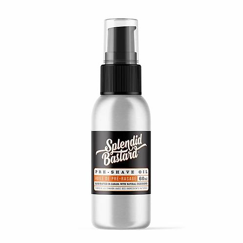 Splendid Bastard: Pre-Shave Oil