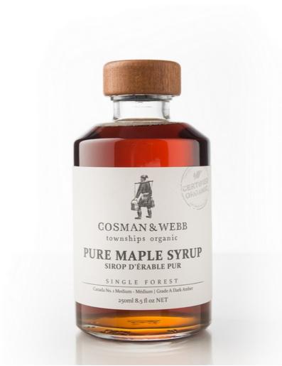 Cosman Webb: Organic Maple Syrup (250mL)