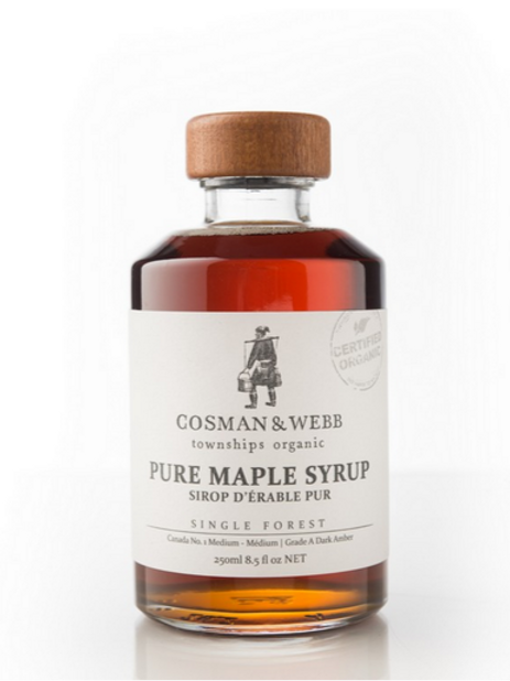 Cosman Webb: Organic Maple Syrup (250mL)