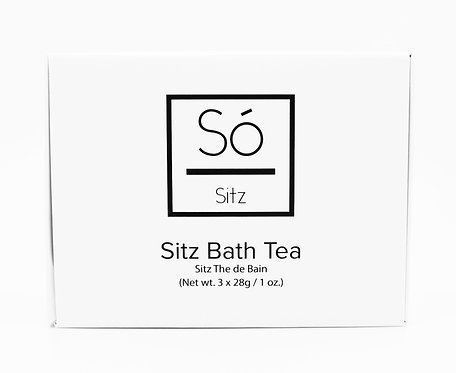 So Luxury: Sitz Bath Tea