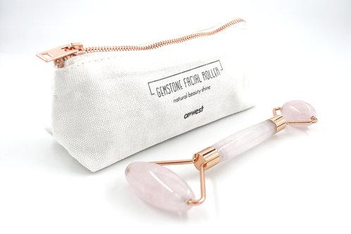 Rose Quartz Gemstone Facial Roller